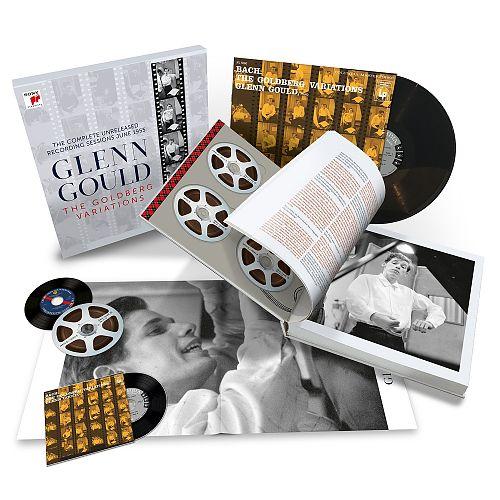 Johann Sebastian Bach: Goldberg-Variationen BWV 988 The Complete Unreleased Recording Sessions 1955 von Verschiedene Interpreten für 99,99€