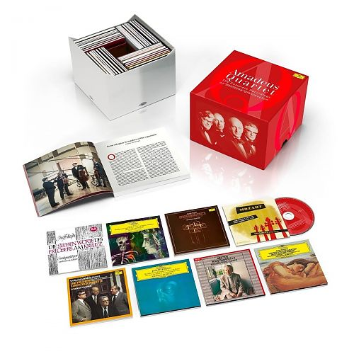 Amadeus Quartett - The Complete Recordings on Deutsche Grammophon, Decca & Westminster Limited Edition von Verschiedene Interpreten für 159,99 €