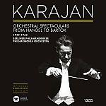 Herbert von Karajan Edition 9 - Orchestral Spectaculars from Handel to Bartok 1949-1960 von H.v. Karajan für 34,99€
