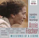 Annie Fischer - Milestones of a Piano Legend von Verschiedene Interpreten für 13,99€