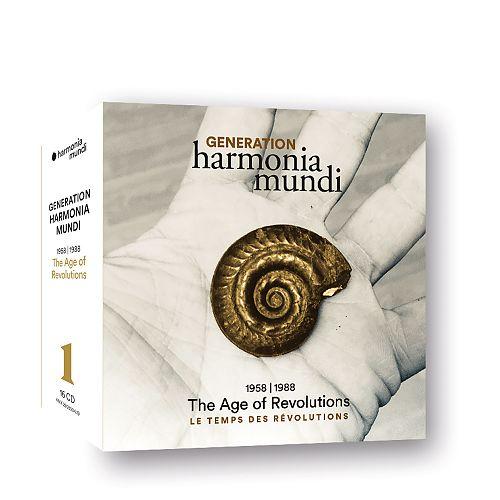 Generation harmonia mundi 1958-1988 The Age of Revolution von Verschiedene Interpreten für 16,99€
