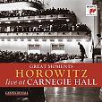Vladimir Horowitz live at Carnegie Hall - Great Moments von Verschiedene Interpreten für 14,99€