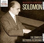 Milestones Of A Piano Legend - The Complete Beethoven Recordings von Solomon für 17,99 €