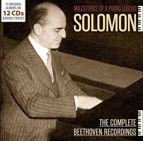 Milestones Of A Piano Legend - The Complete Beethoven Recordings von Solomon für 17,99€