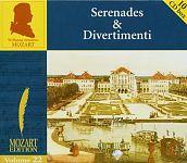 Die Edition Vol. 22 - Divertimenti & Serenaden von W.A. Mozart für 9,99€