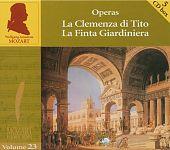 Die Edition Vol. 23 - Opern Vol. 8: La Clemenza di Tito, La Finta Giardiniera von W.A. Mozart für 6,99€