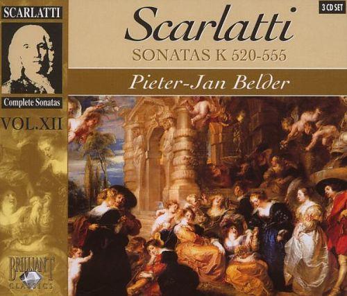 Cembalosonaten K 520-555 von Domenico Scarlatti für 2,99€