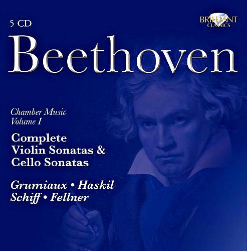 Komplette Violin- und Cellosonaten von L.v. Beethoven für 3,99€