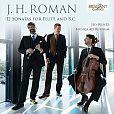 12 Sonaten für Flöte & Basso Continuo von J.H. Roman für 8,99€