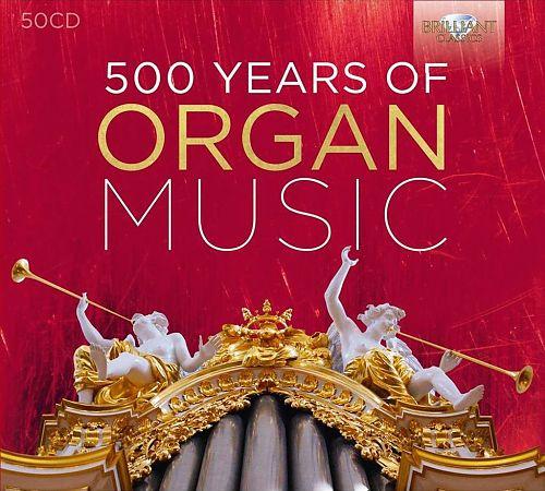 500 Years of Organ Music von Verschiedene Interpreten für 59,99€