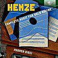 Sämtliche Gitarrenwerke von H.W. Henze für 6,99€