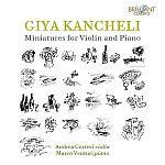 Miniatures für Violine & Klavier von Giya Kancheli für 6,99€