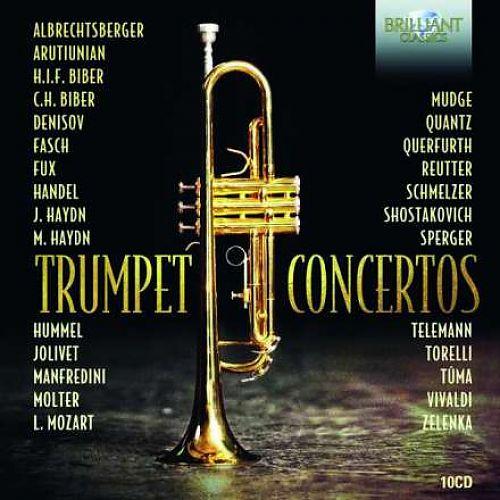 Trompetenkonzerte von Verschiedene Interpreten für 27,99€
