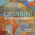Stefano Casarini: Etüden für Gitarre Nr.1-24 von Adriano Sebastiani für 11,99€