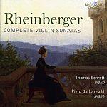 Josef Rheinberger: Sonaten für Violine & Klavier Nr.1 & 2 von Verschiedene Interpreten für 11,99€