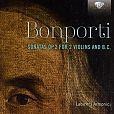 Francesco Bonporti: Sonate de Camera op.2 Nr.1-10 für 2 Violinen & Bc von Labirinti Armonici für 8,99€
