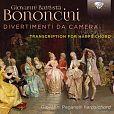 Giovanni Battista Bononcini: Divertimenti da Camera Nr.1-8, arrangiert für Cembalo von Giovanni Paganelli für 8,99€