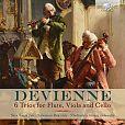 Francois Devienne: Flötentrios Nr.1-6 von Verschiedene Interpreten für 8,99€