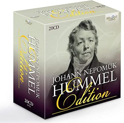 Johann Nepomuk Hummel - Edition von Verschiedene Interpreten für 39,99€