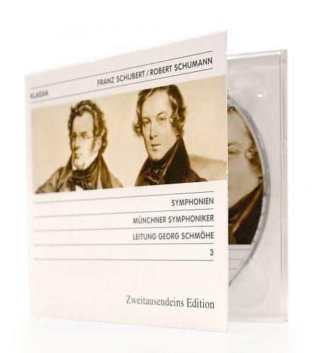 Symphonien von Franz Schubert & Robert Schumann für 4,99€