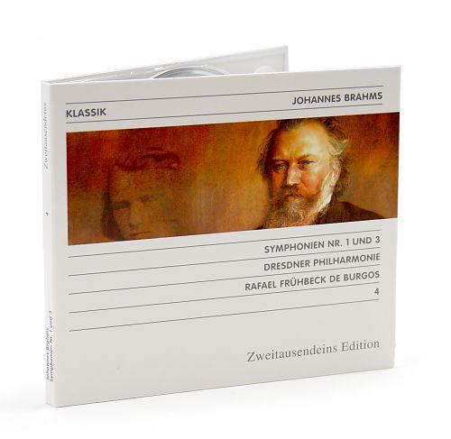 Sinfonie Nr. 1 & 3 von Johannes Brahms für 7,99€