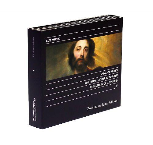 Salvator Mundi - Kirchenmusik der Tudor-Zeit von The Clerkes of Oxenford für 14,99€