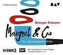 Maigret & Co - Die rätselhaftesten Fälle von Georges Simenon für 19,99€