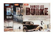 Südstaaten-Thriller Paket von James Lee Burke für 19,95€