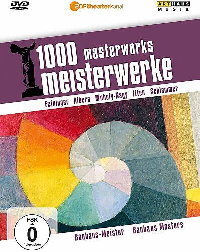 1000 Meisterwerke - Bauhaus Meister für 12,95€