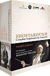 Sämtliche Sinfonien und Konzerte von Dimitri Schostakowitsch für 139,95€