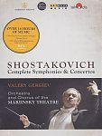 Sämtliche Sinfonien und Konzerte von Dimitri Schostakowitsch für 149,95€