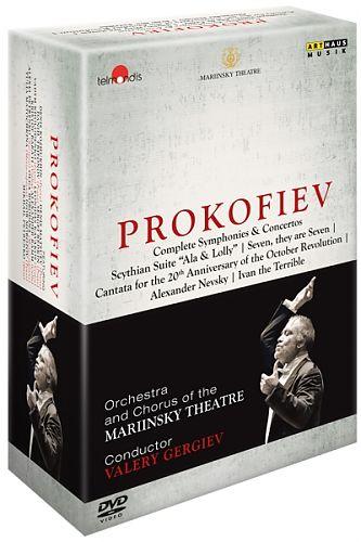 Sämtliche Sinfonien & Konzerte von Sergej Prokofjew für 139,99€