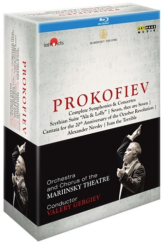 Sämtliche Sinfonien & Konzerte von Sergej Prokofjew für 149,95€