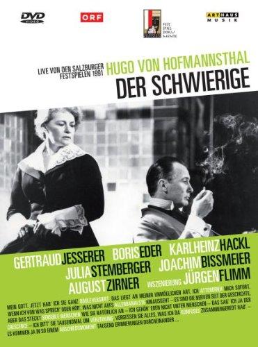 Der Schwierige Salzburger Festspiele 1991 von Hugo v. Hofmannsthal für 7,99€