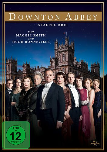 Downton Abbey - Staffel 3 für 14,99 €