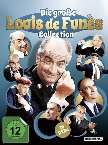 Die große Louis de Funès Collection für 39,99€