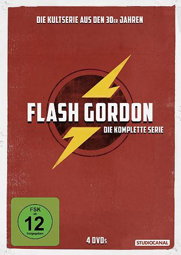 Flash Gordon - Die komplette Serie für 11,99€