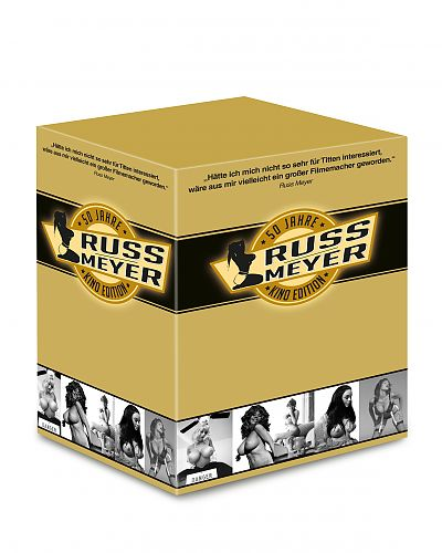 50 Jahre Russ Meyer - Kino-Edition für 26,99€