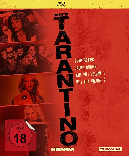 Tarantino Collection für 24,99 €