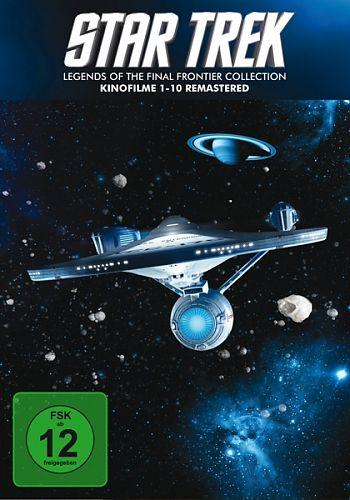 Star Trek 1-10 - Box - Remastered für 49,99€