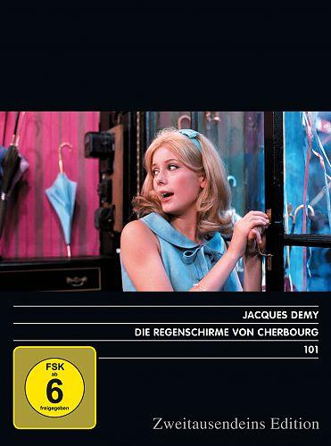 Die Regenschirme von Cherbourg. Zweitausendeins Edition Film 101. für 7,99€