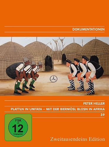 Plattln in Umtata. Mit der Biermösl Blosn in Afrika. Zweitausendeins Edition Dokumentationen 39. für 7,99€