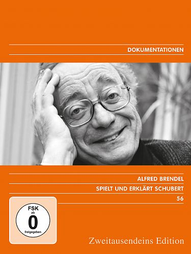 Alfred Brendel spielt und erklärt Schubert. Zweitausendeins Edition Dokumentation 56. für 29,99€