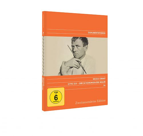 Otto Dix - Der schonungslose Maler. Zweitausendeins Edition Dokumentation 76. für 7,99€