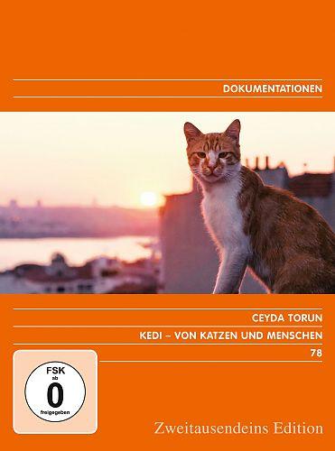 Kedi - von Katzen und Menschen. Zweitausendeins Edition Dokumentation 78. für 9,99€