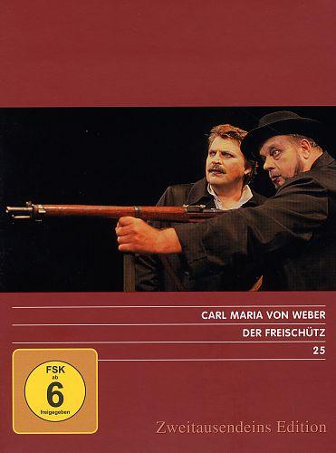 Der Freischütz. Zweitausendeins Edition Musik 25. von C.M. von Weber für 12,99€