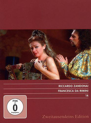Francesca da Rimini. Zweitausendeins Edition Musik 14. von Riccardo Zandonai für 4,99€