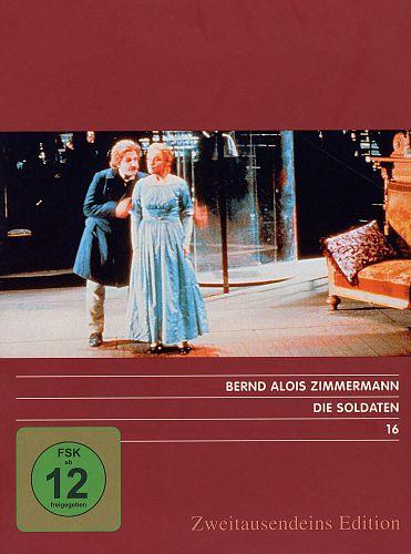 Die Soldaten. Zweitausendeins Edition Musik 16. von B.A. Zimmermann für 4,99€
