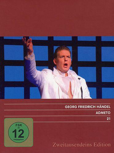 Admeto. Zweitausendeins Edition Musik 21. von G.F. Händel für 7,99€