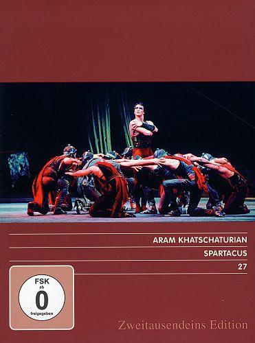 Spartacus. Zweitausendeins Edition Musik 27. von Aram Khatschaturian für 9,99€